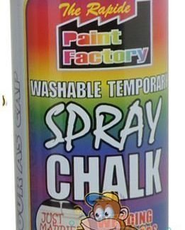 chalk spray red
