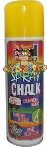 chalk spray yellow