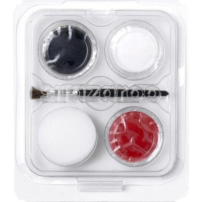 vampire mini face paint set