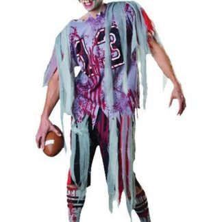 end zone usa football zombie