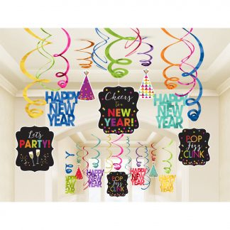 2019 Happy New Year Eve Party Decorations