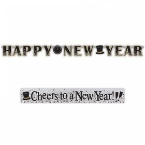 NYE party banner