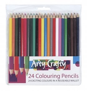 42 colouring pencils