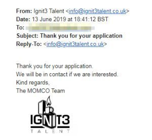 ignit3 talent email